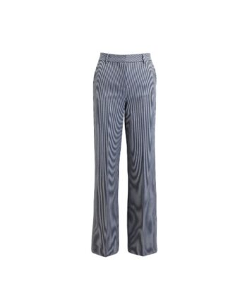foto af Rabens Saloner Blerona Striped Suiting Pant Blue/white