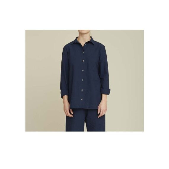 foto af Basic Apparel Joan Shirt Navy