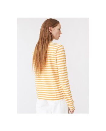 foto af Hope Base LS Tee Orange Stripe