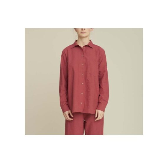 foto af Basic Apparel Joan Shirt Earth Red