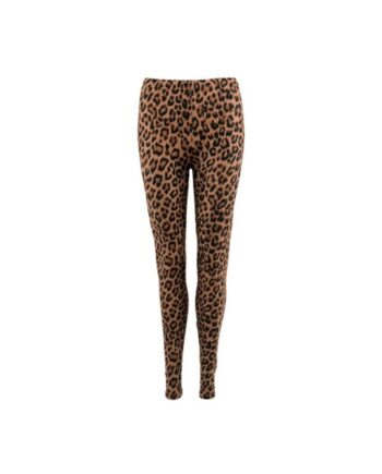 foto af Black Colour Lynn Leo Leggings Brown