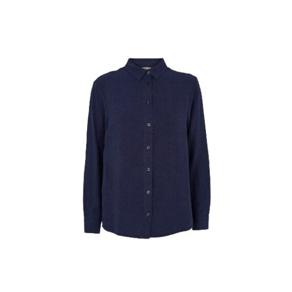 foto af Basic Apparel Trine Shirt Navy
