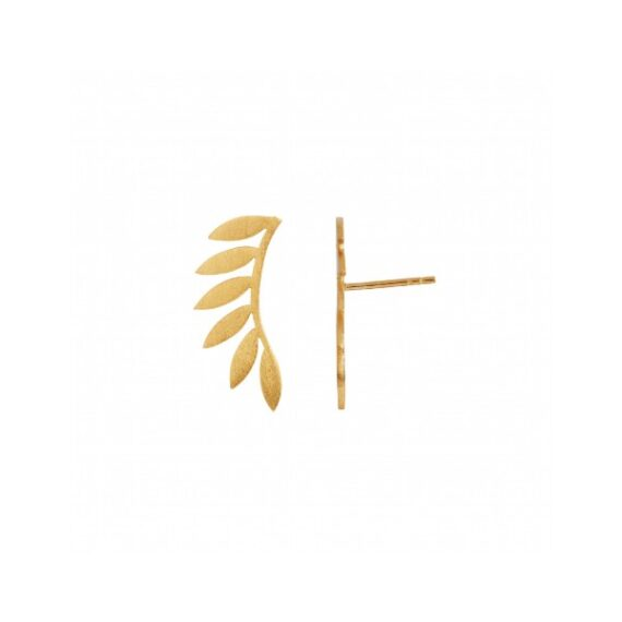 foto af Stine A Six Leaves Earring Piece Right Gold