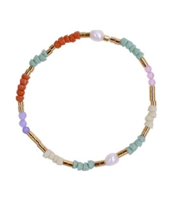 foto af Perlemust Armbånd Recycled African Sun