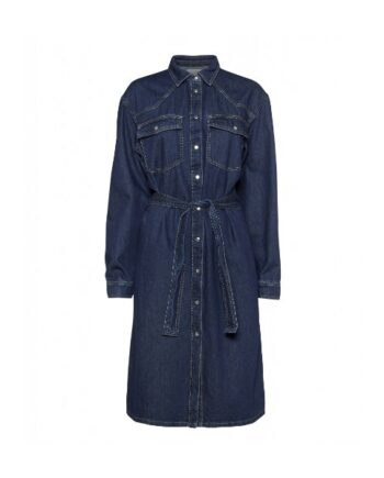 foto af Norr Atlas Denim Dress Dark Blue Denim
