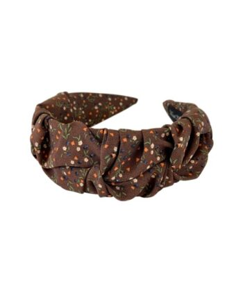 foto af Black Colour Eva Mini Blossom Headband Brown