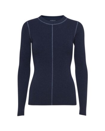foto af Norr Chloe Stitch Knit Dark Navy