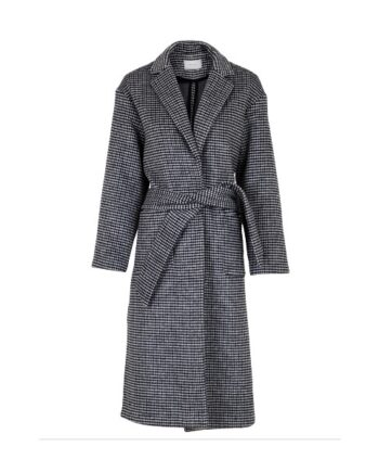 foto af Neo Noir Nima Check Coat Black Check