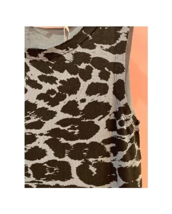 foto af Rabens Saloner Othea Giant Leopard Tank Steel Blue