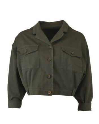 foto af Black Colour Ramone Short Jacket Army