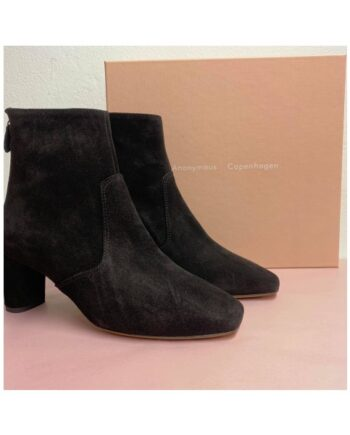 foto af Anonymous Copenhagen Lovie Calf Suede Black
