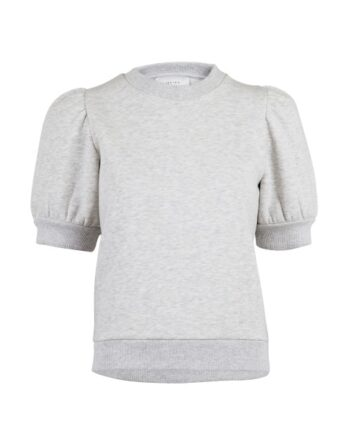 foto af Neo Noir Baya Sweat Tee Light Grey Melange