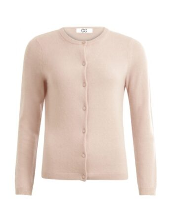 foto af Coster Copenhagen CC Heart Cashmere Cardigan Dusty Pink