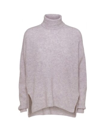 foto af Norr Nordby Roll-Neck Light Pink