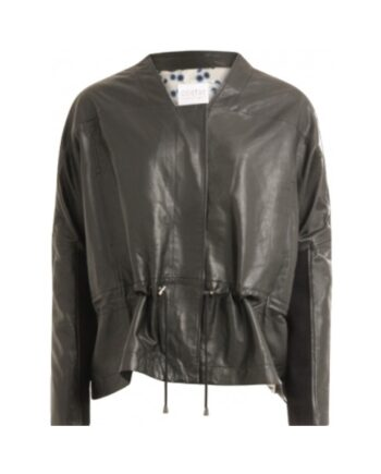 foto af Coster Copenhagen Oversize Leather Jacket Black