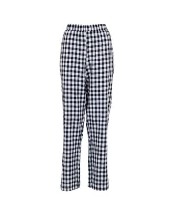foto af Neo Noir Zena Fall Check Pants Navy