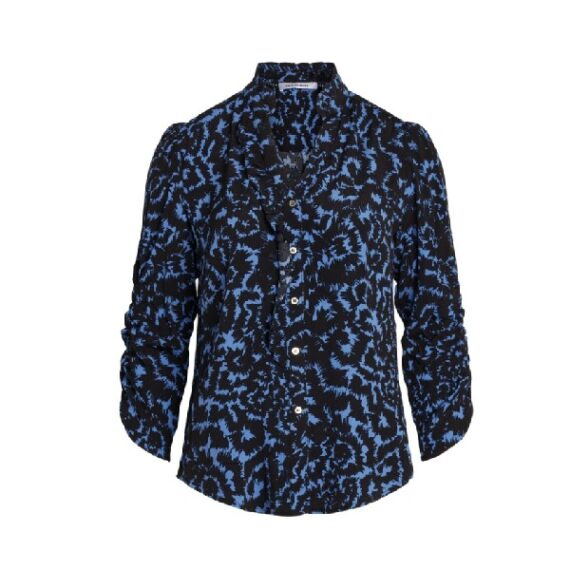 Co'couture Ying Frill Shirt Sky Blue